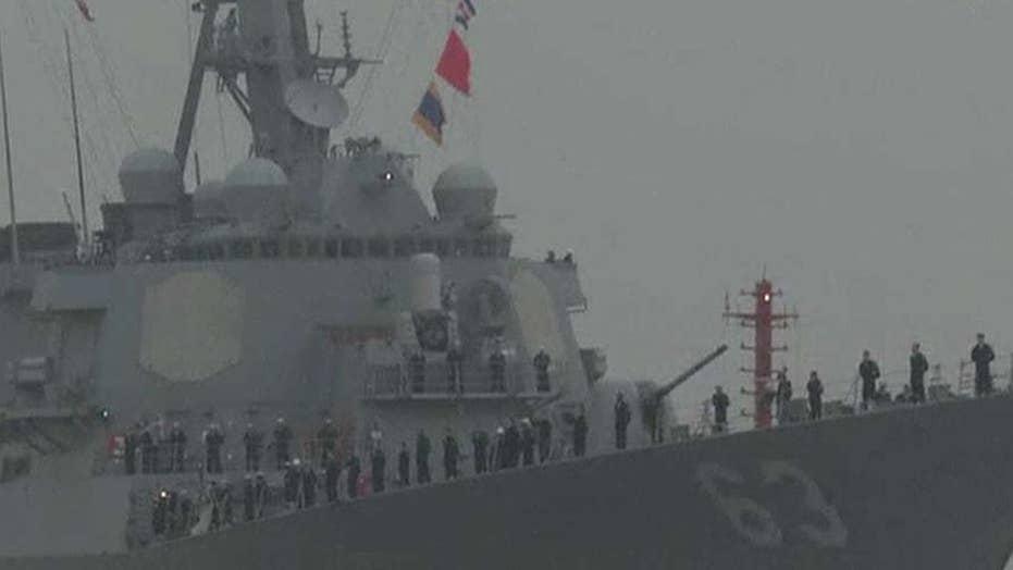 Navy identifies sailor lost at sea