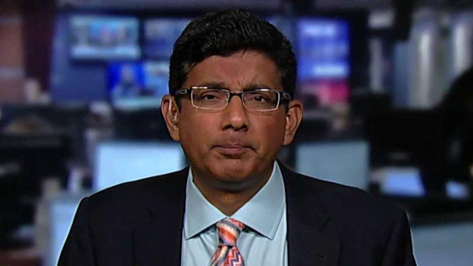 Dinesh D'Souza on Maxine Waters' call to impeach Trump