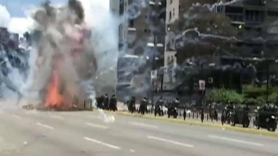 Report: Terrorist attack at Venezuelan military base