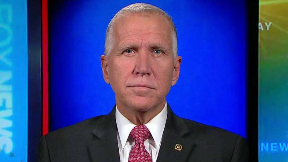 Sen. Thom Tillis on measures to protect the special counsel