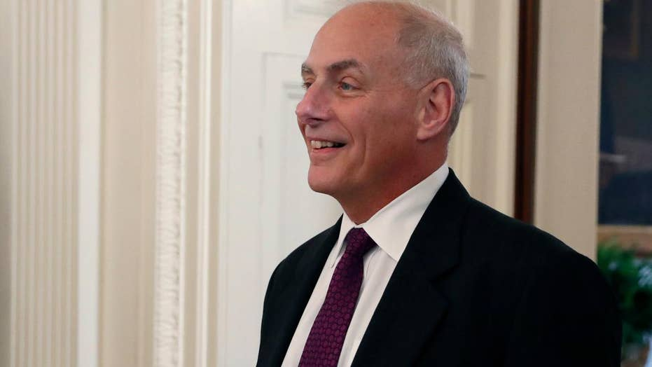 John Kelly reportedly reining in WH staff, Trump tweets