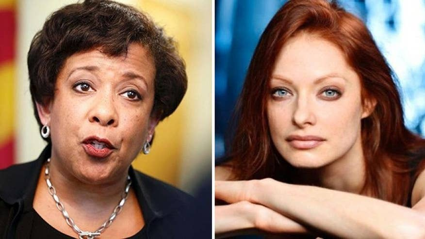 Loretta Lynch reportedly used alias 'Elizabeth Carlisle,' the name of an actress who has had roles in 'Sister Dirty,' 'Hot in Cleveland' and 'My Wife Is a Zombie,' for official emails as attorney general