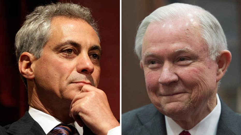 DOJ fires back at Chicago's sanctuary city lawsuit threat