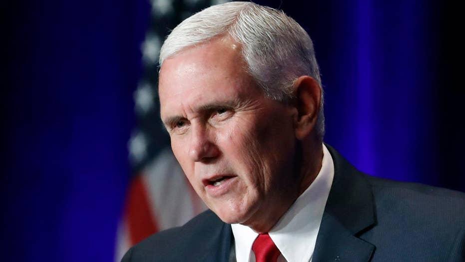 Pence team denies VP is eyeing 2020 presidential bid