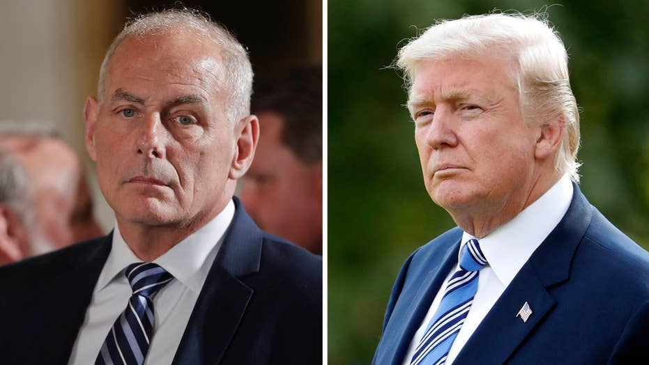 Should Kelly rein in Trump on Twitter or let Trump be Trump?