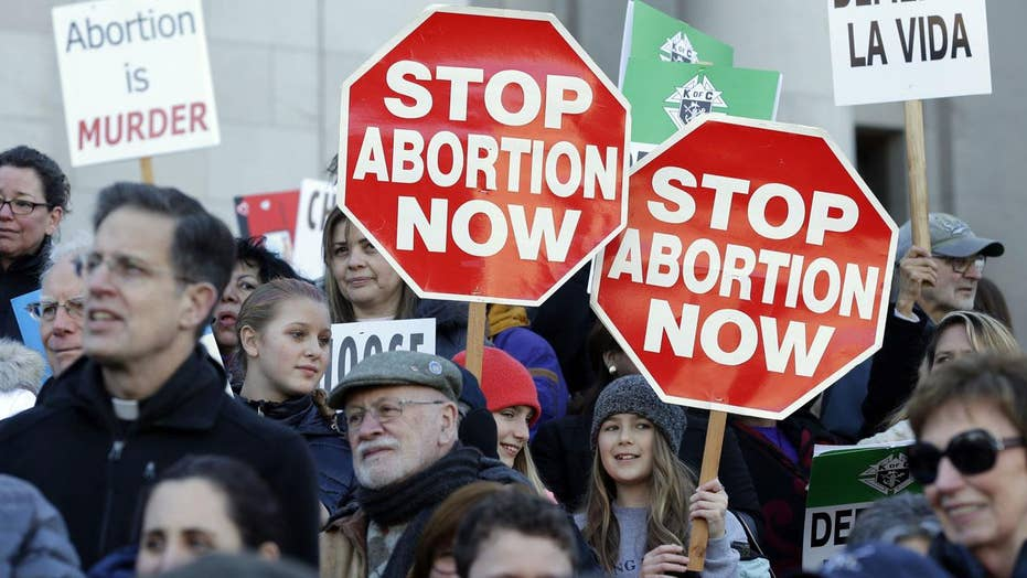 Abortion at center for the 'soul' of the Left