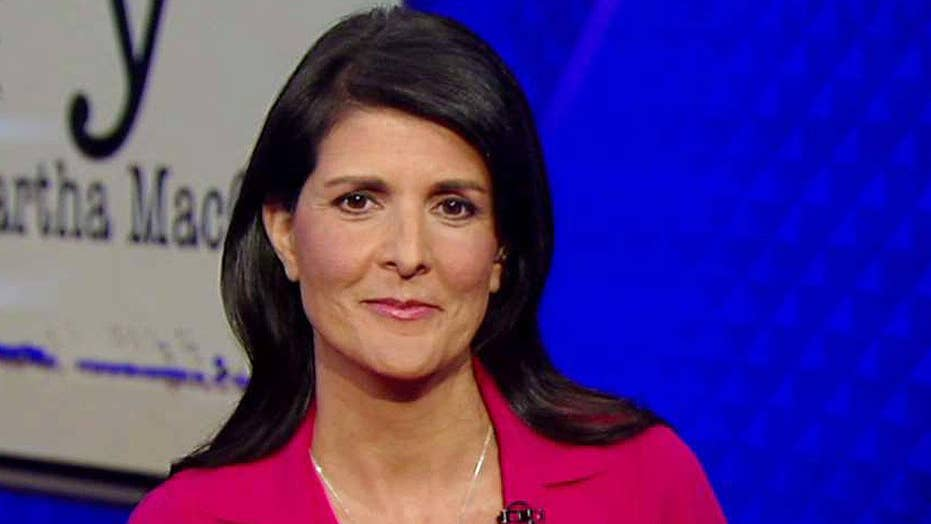 Amb. Nikki Haley: Sanctions are a 'gut punch' to North Korea