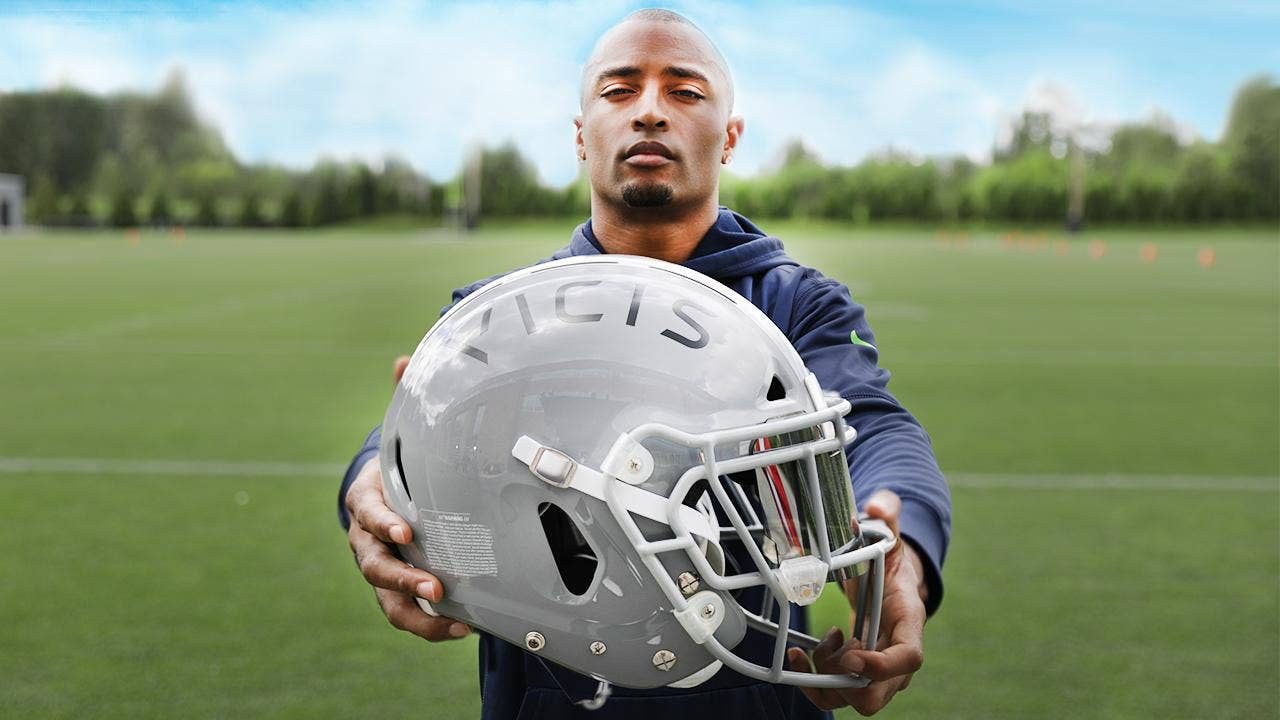 Football helmets for different positions for sexual health