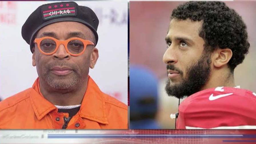 Fox Sports 1's Jason Whitlock sounds off on Colin Kaepernick supporter Spike Lee and why NFL teams are unwilling to take a chance on the controversial quarterback, calling the false racism narrative the 'Tawana Brawley' of sports