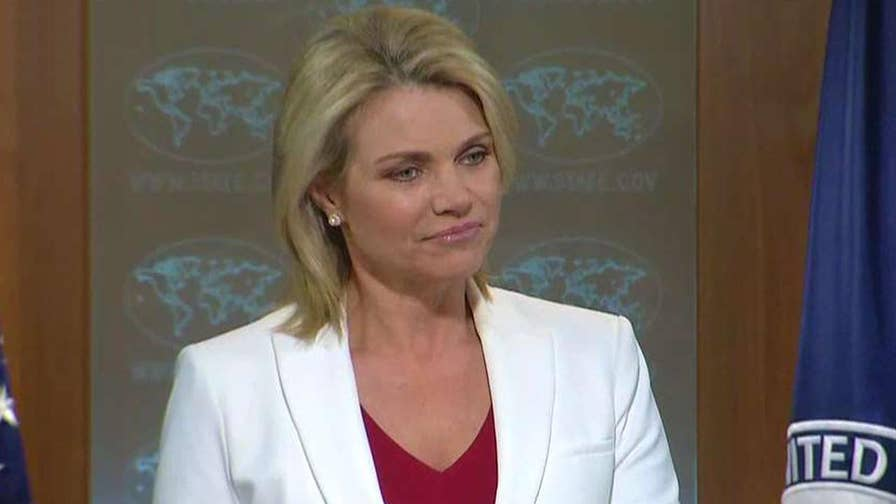 State Department addresses the president's remarks about North Korea
