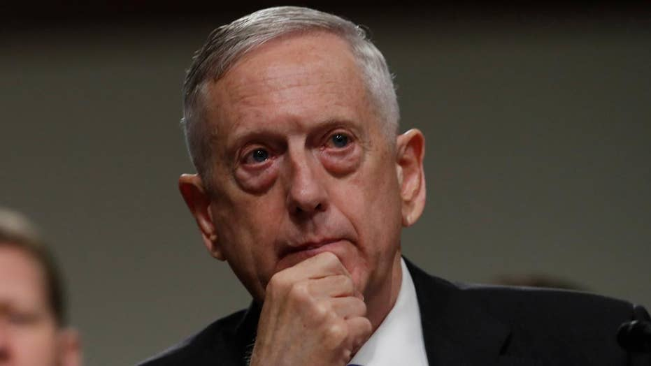 Mattis: NKorea's actions will be grossly overmatched by ours