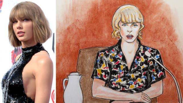 Taylor Swift: 'I felt him grab onto my bare ass cheek'