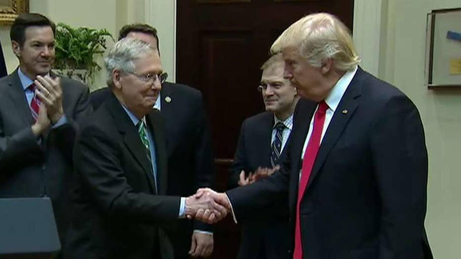 Source: Trump, McConnell call over health care was 'tense'