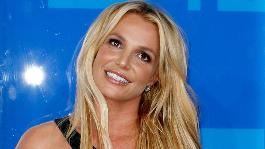Britney Spears fan rushes concert stage