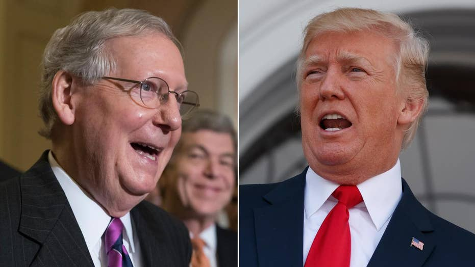Trump-McConnell feud heats up after health reform failure
