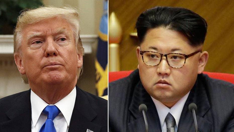 President Trump warns North Korea will 'regret' any attacks