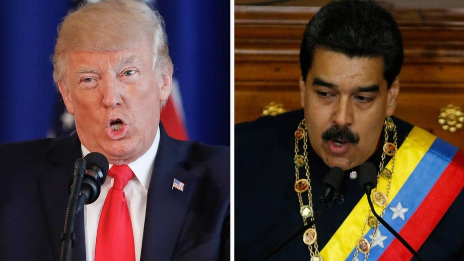 Trump rejects offer to speak to Venezuelan president