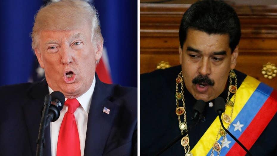 Trump rejects offer to speak to Venezuelan president