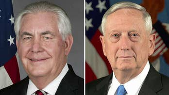 Mattis, Tillerson: North Korea threat -- The world is united in pursuit of a denuclearized Korean Peninsula