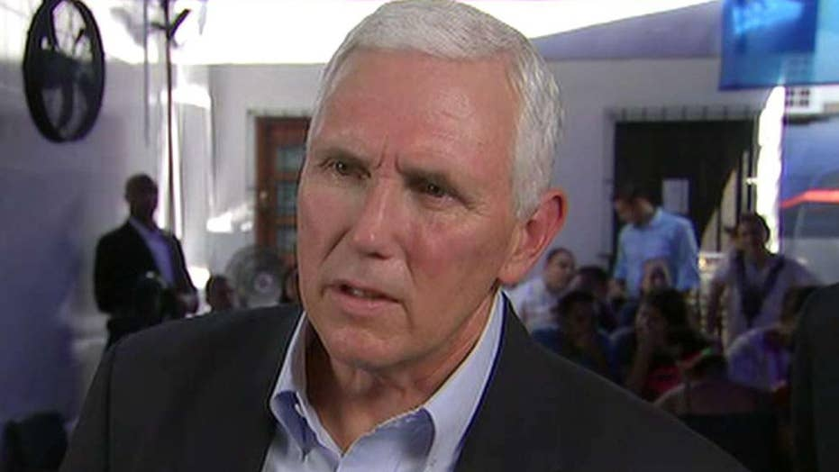 Pence: A failed state in Venezuela is a threat to the US