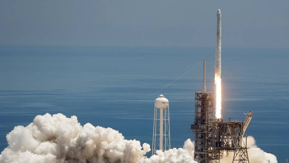 SpaceX sends ice cream, equipment to space station