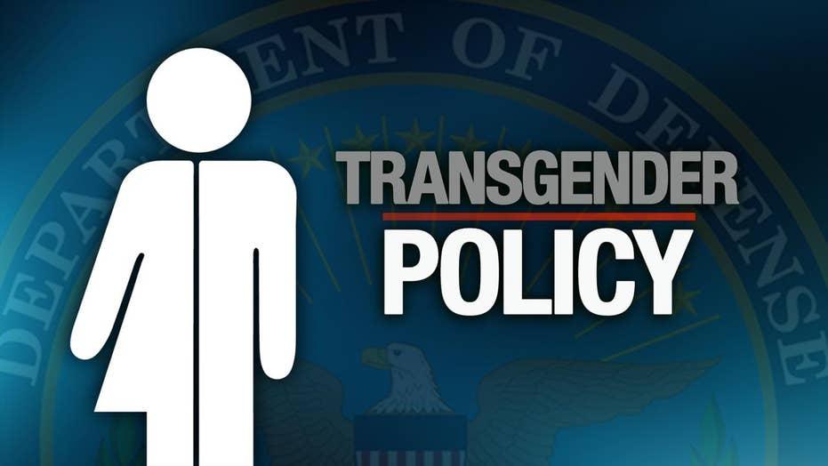 Pentagon waits on Trump guidance on transgender military ban