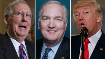 President and Senate leader endorse Luther Strange in tight Republican primary to fill Sessions' seat; analysis on 'America's Newsroom'