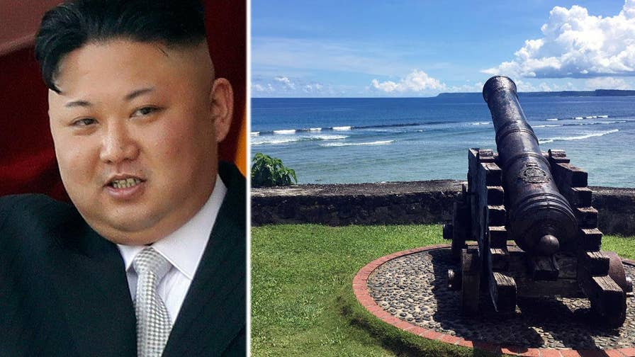 William La Jeunesse reports from Guam