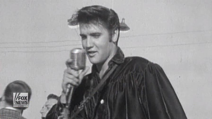 A look back at the life and death of Elvis Presley, 'the king of rock & roll'
