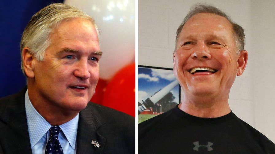 Luther Strange and Roy Moore top the Republican primary