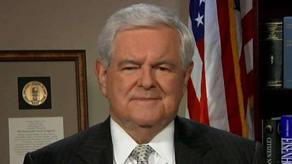 Gingrich: Elite media, left-wing Dems represent a big lie