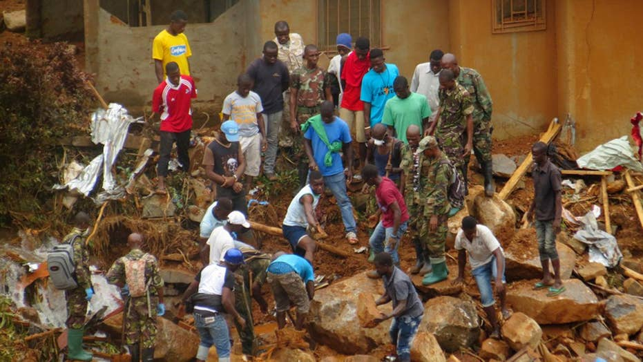 Massive mudslides bring devastation to Sierra Leone
