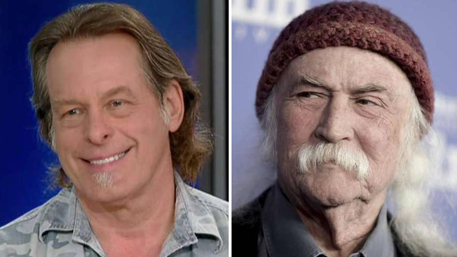 Ted Nugent: David Crosby can 'kiss my a**'