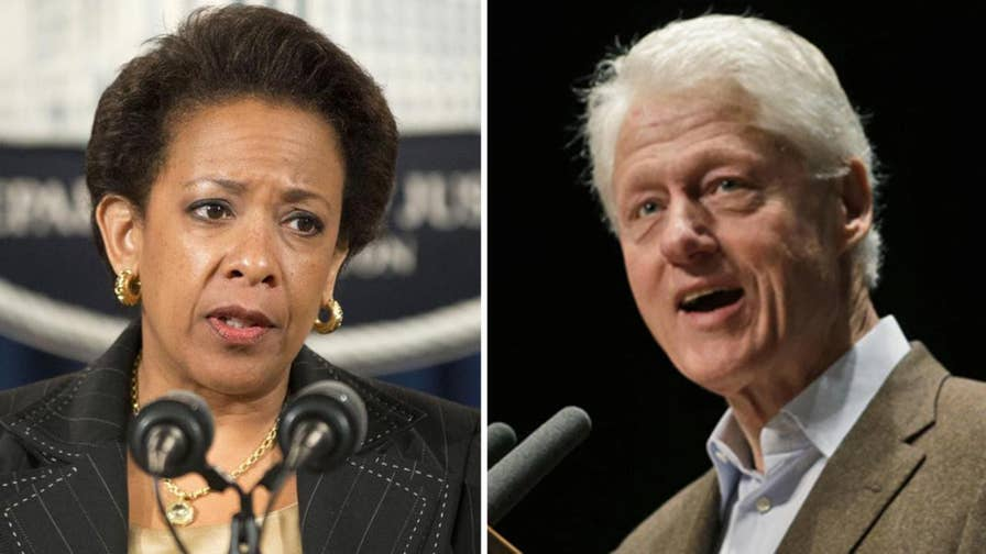 Image result for Clinton 'rejects premise' husband meeting AG Lynch on tarmac critically hurt campaign