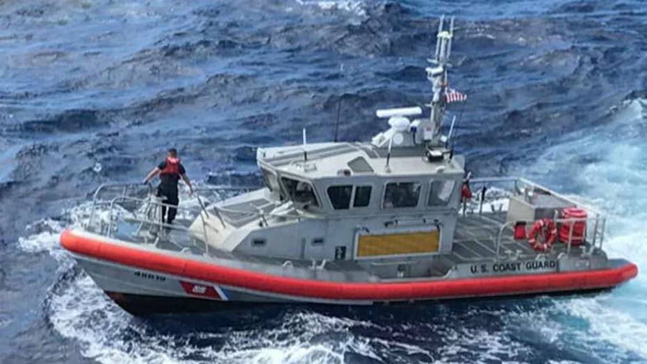 Search under way for missing soldiers off coast of Hawaii