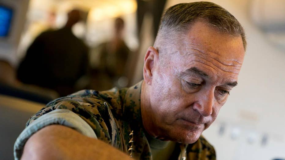 Dunford seeks viable military options for North Korea