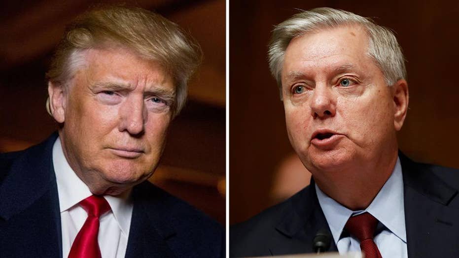 President Trump slams 'publicity seeking' Sen. Graham