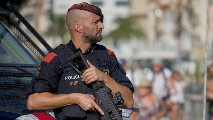 Five terrorists with fake suicide belts killed in Spain