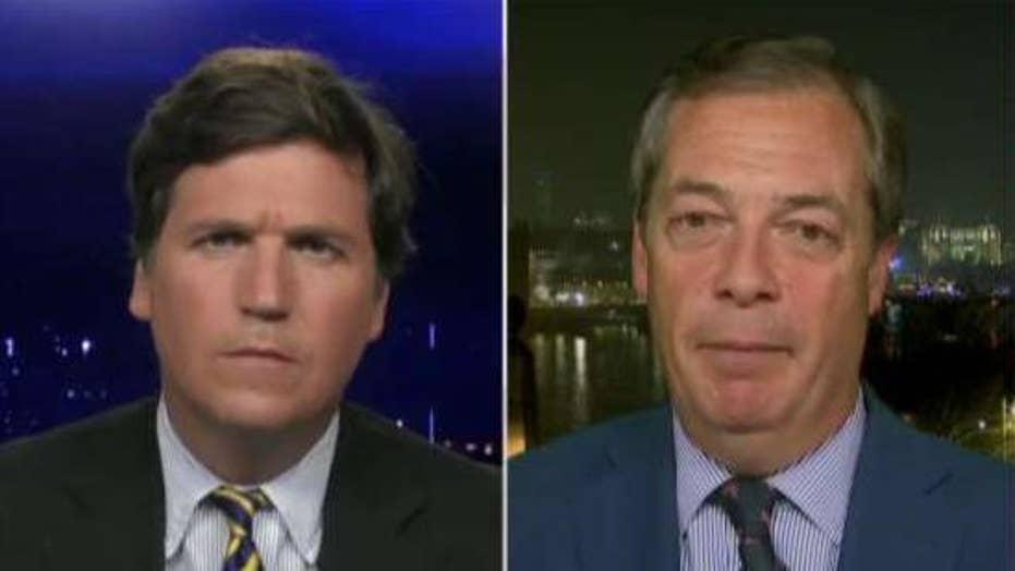 Farage: European leaders still in denial of terror problem