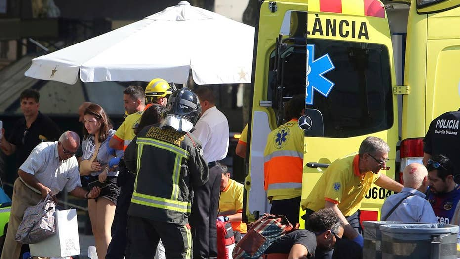 AP: 14 killed in Barcelona van rampage