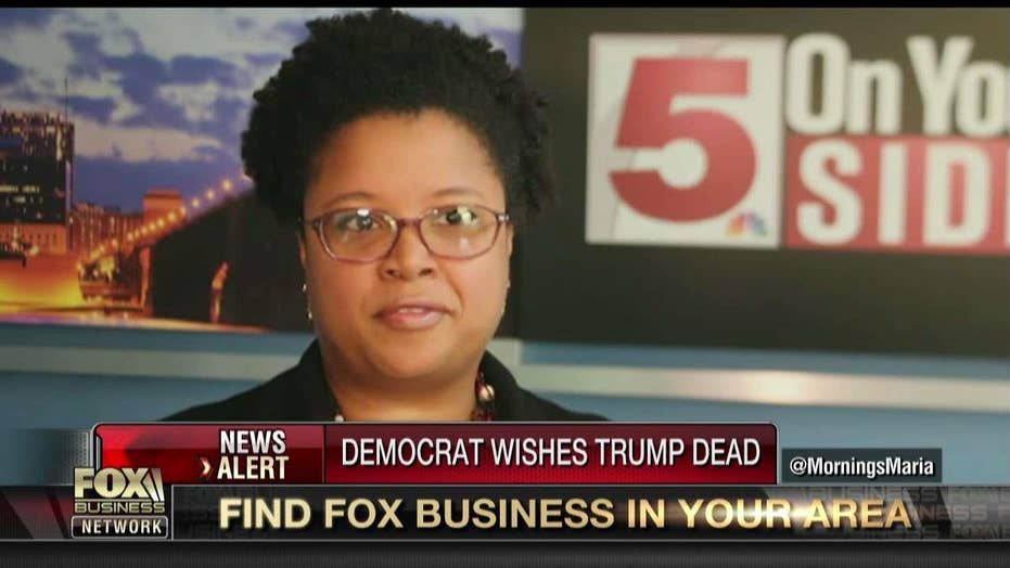 Missouri Democrat wishes for Trump's assassination.