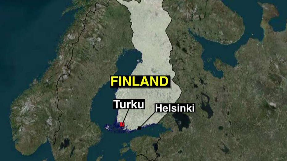 AP: Police in Finland shoot stabbing suspect
