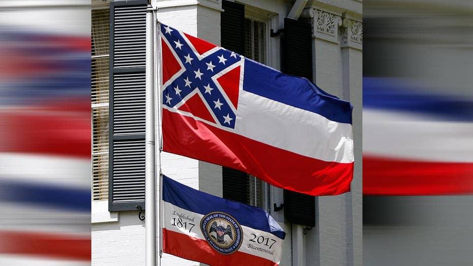 Debate over Confederate emblem on state flag heats up
