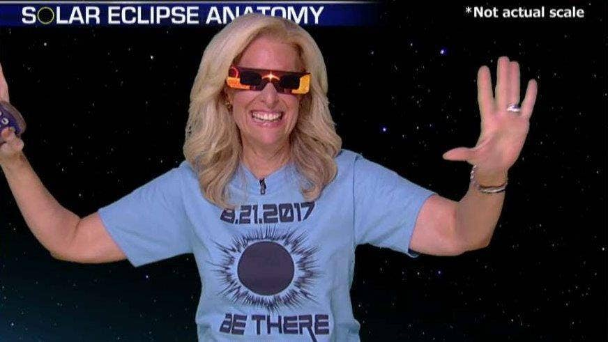 Fox & Friends' Janice Dean enters 'The Friend Zone' to give a preview of Monday's highly-anticipated solar eclipse #Tucker