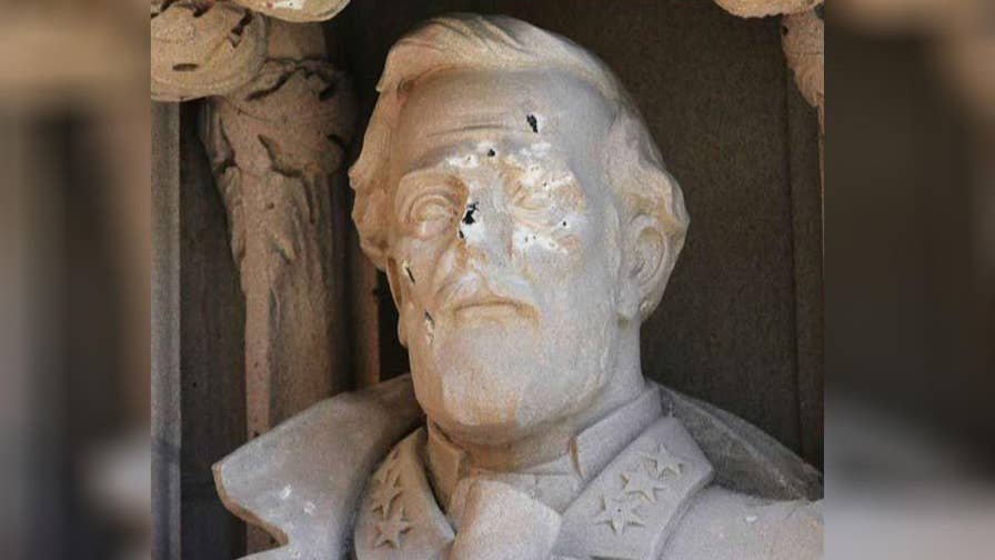 University removes statue of Confederate general