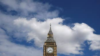 Big Ben's bell bongs for the final time, until 2021.  London's iconic tower is getting a $37 million renovation