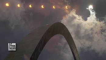 Woman who looked at eclipse suffered crescent-shaped eye damage, study shows