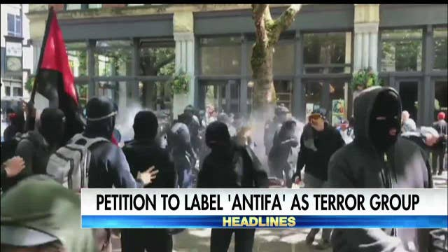Fox Auto Group >> Petition for Antifa to be labeled terror group  Latest News Videos   Fox News