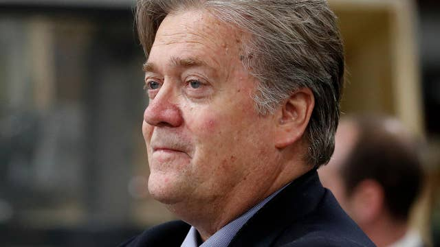 Will Bannon remain a 'loyal soldier' to President Trump?