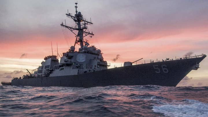 USS John S. McCain collision: Navy warships explained